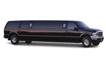 Ford Excursion Stretch Limo (14 Passengers)